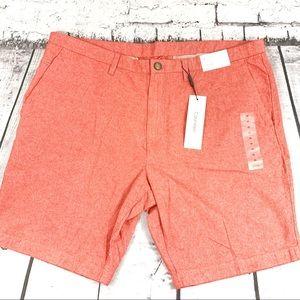 Calvin Klein Mens Chino Flat Front Shorts Size 38